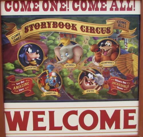 Storybook Circus - New Fantasyland at Walt Disney World's Magic Kingdom