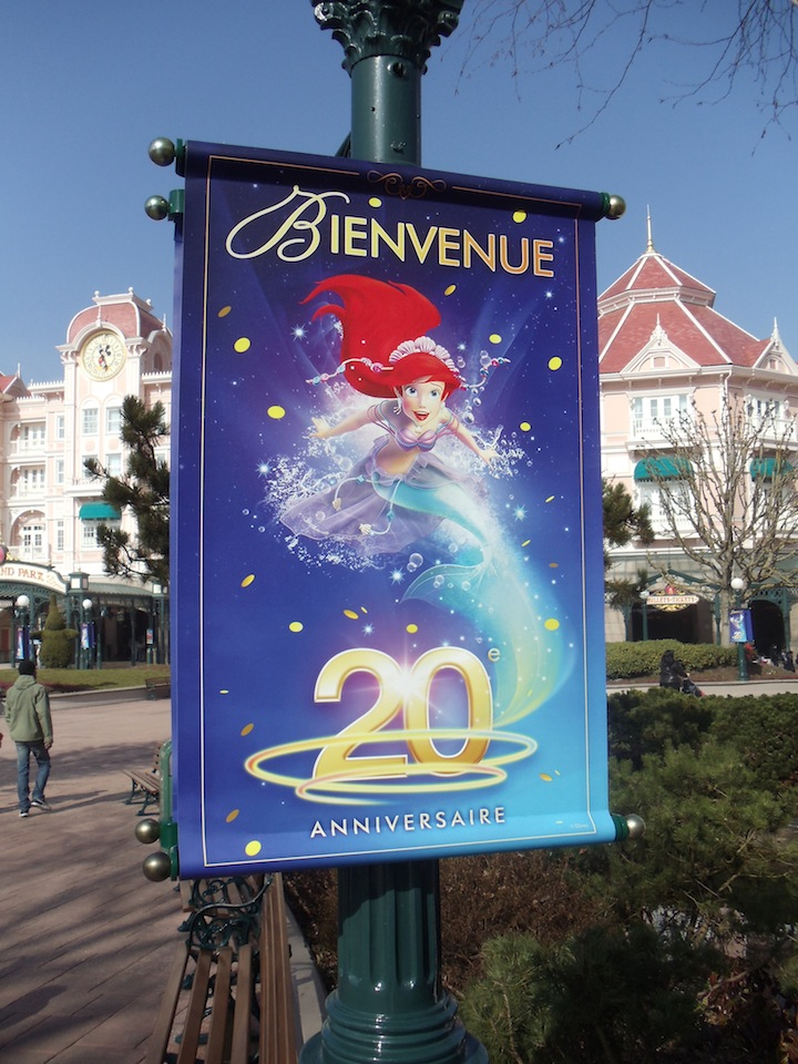 New entrance signs for the 20th anniversary