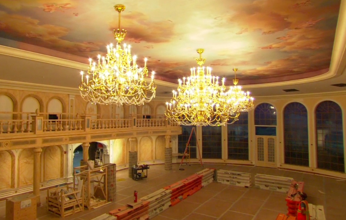 Be our guest restaurant video of inside the ballroom the the arubaitofo Gallery