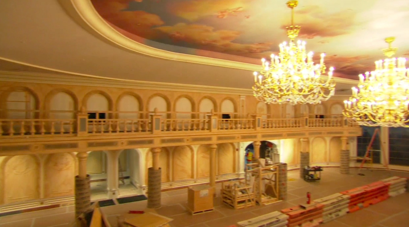 be our guest dining rooms | Be Our Guest restaurant - Video of Inside the Ballroom ...