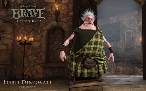 New Clip From Pixar's Brave - The Suitors | The Disney Blog