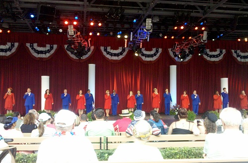 The Combined Voices of Liberty Performs A Special Patriotic Show for July 4th