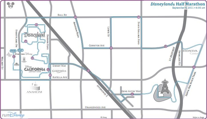 Disneyland sets New 2012 Half-Marathon Course | The Disney Blog on