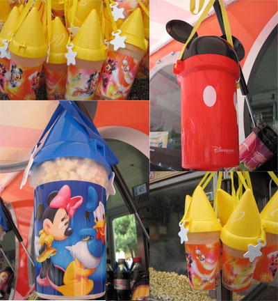 Popcorn Buckets - Disneyland Paris