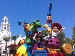 Pixar Parade at DCA