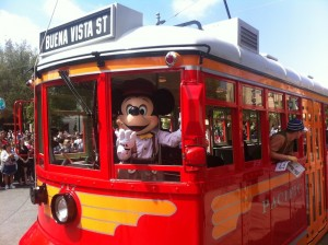 Red Car Mickey