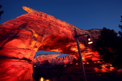 Ornament Valley is the setting for Radiator Springs Racers