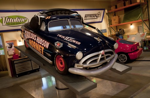 DOC HUDSON IN RADIATOR SPRINGS RACER