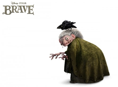"""BRAVE""   (Pictured) THE WITCH ©2012 Disney/Pixar."