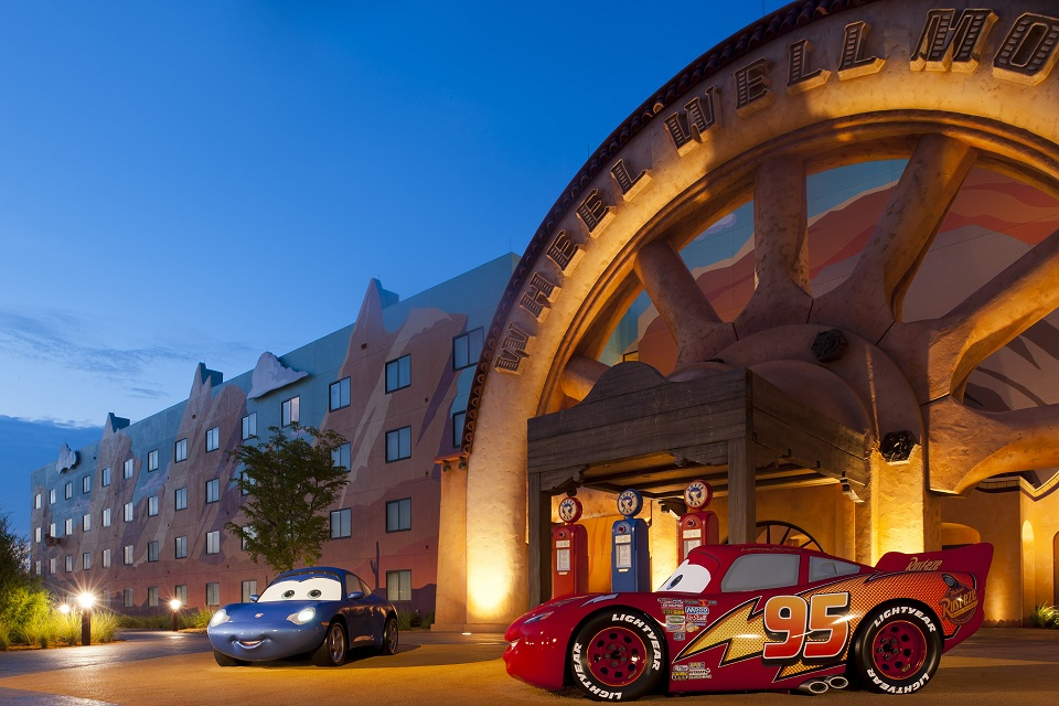 Cars Themed Family Suites Open In Second Phase At Disney S