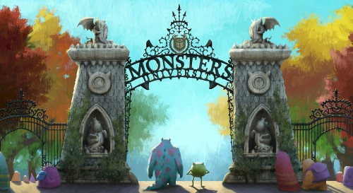 MONSTERS UNIVERSITY - The Gate