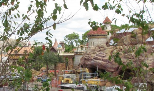 prince eric castle in new fantasyland