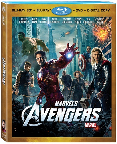 Avengers-4-disc-Box-set