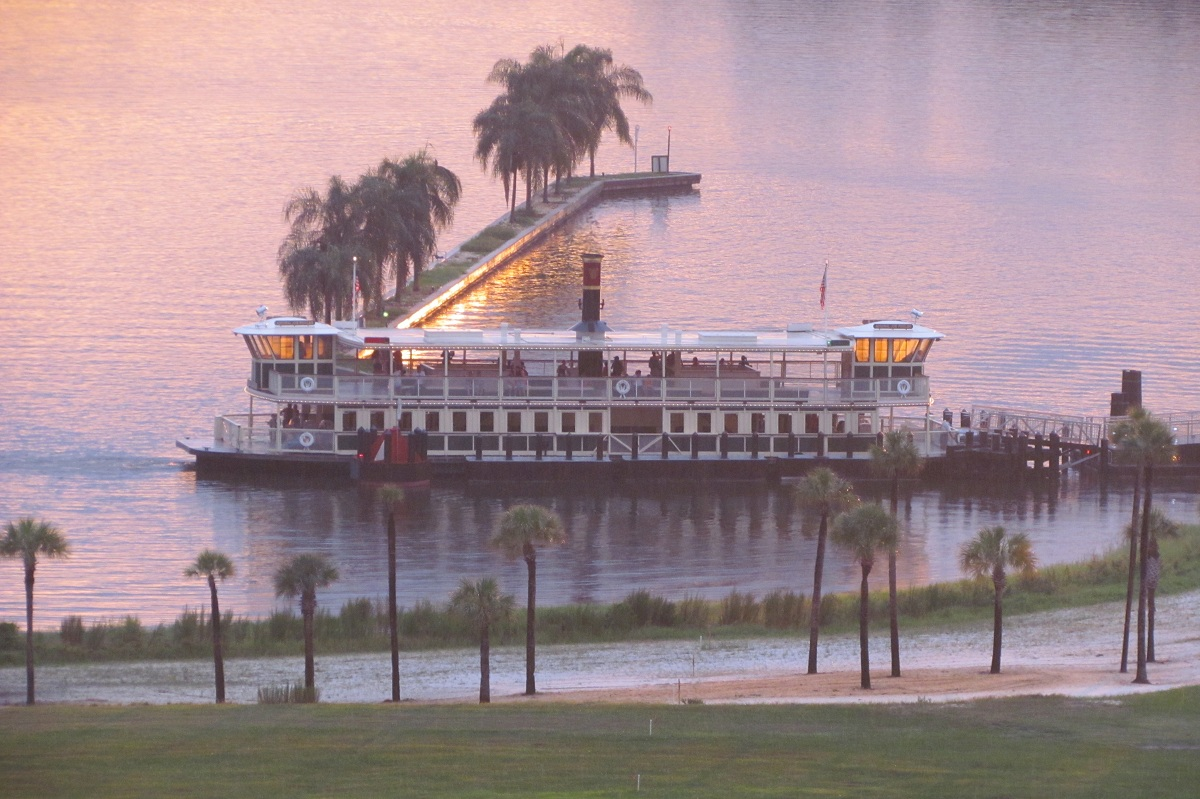 Magic Kingdom Ferry Sunset