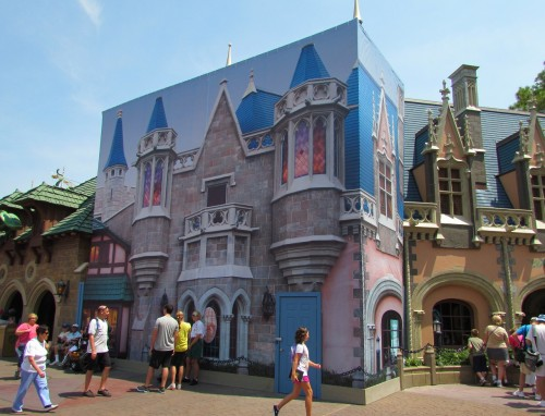 Magic Kingdom Construction Fantasyland Tarp