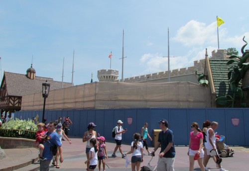Magic Kingdom New Fantasyland Princess Hall Update