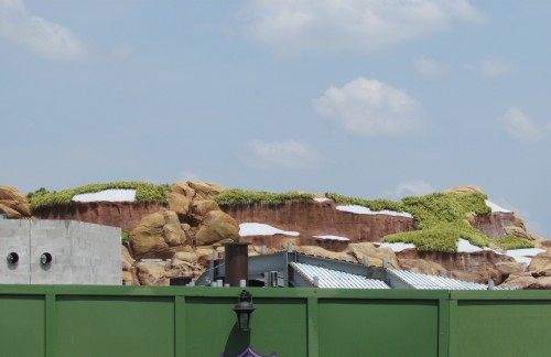 Magic Kingdom Fantasyland Update - Groundscape