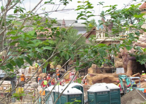 Magic Kingdom New Fantasyland Update - Ariel Activity