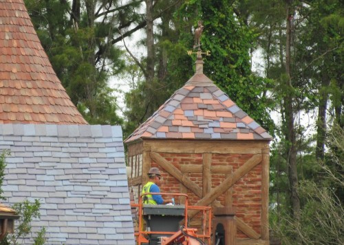 Magic Kingdom New Fantasyland Update - Gaston Village