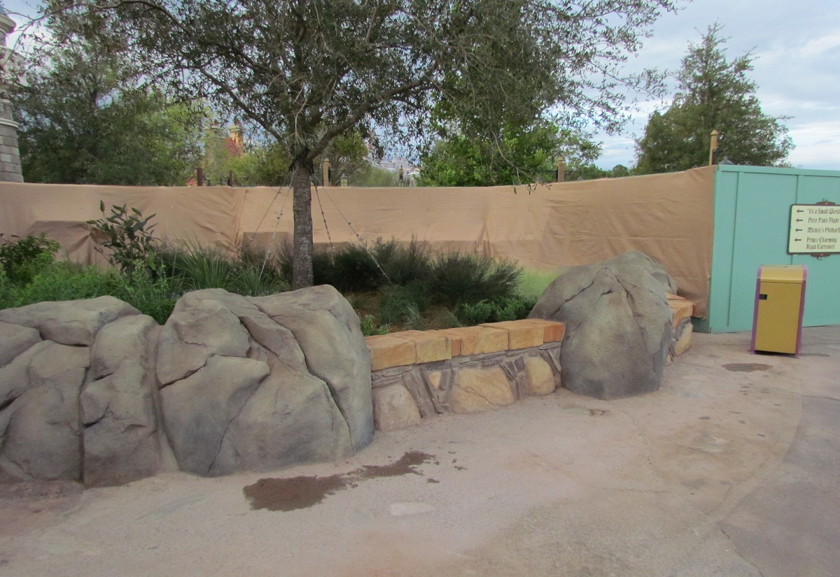 Magic Kingdom New Fantasyland Update - Landscaping