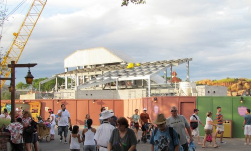 Magic Kingdom New Fantasyland Update - Mine Train