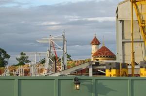 Magic Kingdom New Fantasyland Update - Mine Train