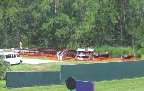 Magic Kingdom New Fantasyland Update mine train track