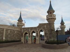 Magic Kingdom New Fantasyland Update - Wall