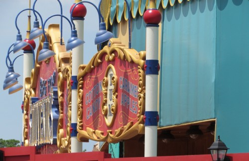 Magic Kingdom Fantasyland Update -  Big Top Store