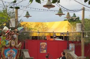 Magic Kingdom Storybook Circus Update - Yellow Tent