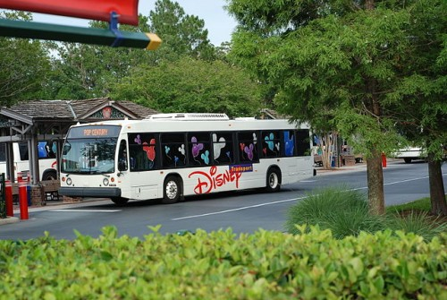 Disney Bus at WDW