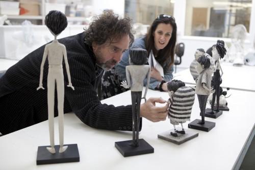 """""""FRANKENWEENIE""""  Director Tim Burton"""