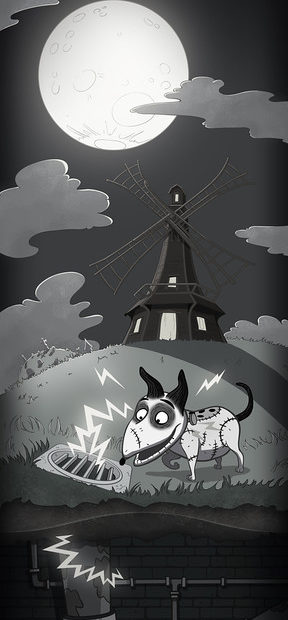 Frankenweenie - Where's My Water game
