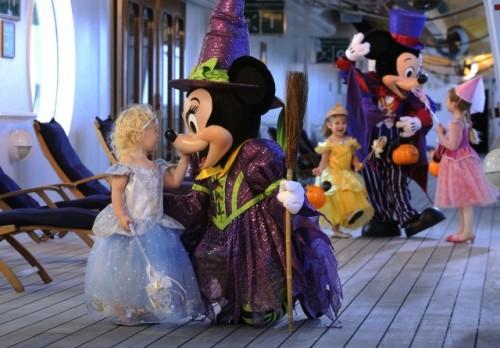 Disney Cruise Line Halloween 2012 with Mickey & Minnie