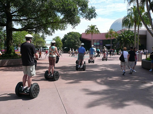 Segway Tour at EPCOT