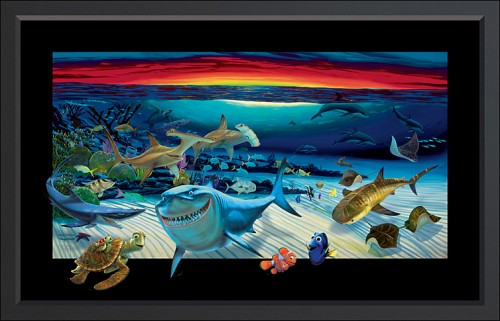 Wyland Nemo's World Painting