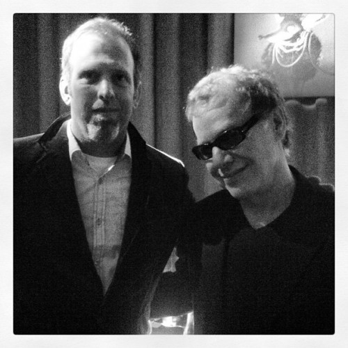 Danny Elfman and Whit Honea