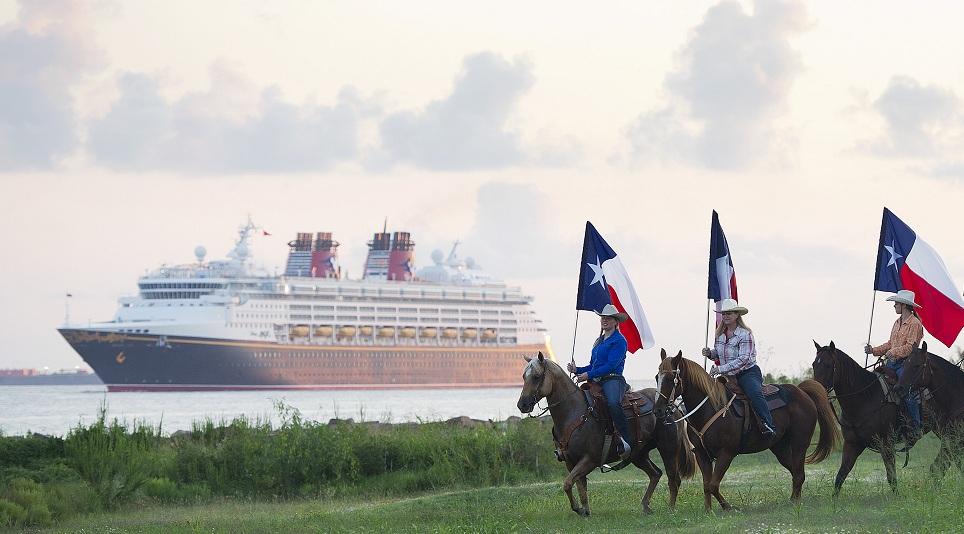 Disney Magic Reaches Galveston Texas For Inaugural Season