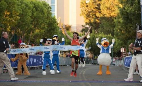 Disneyland Half Marathon Winner Grabow