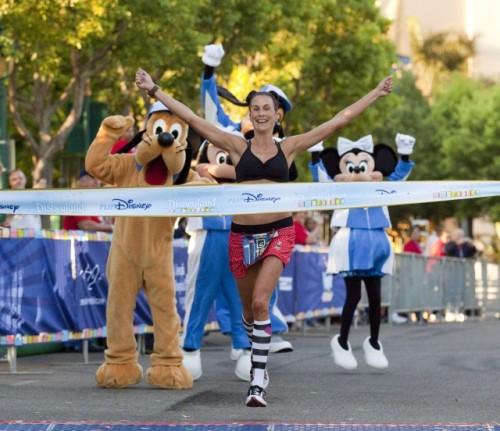 Disneyland Half Marathon Winner Lynch