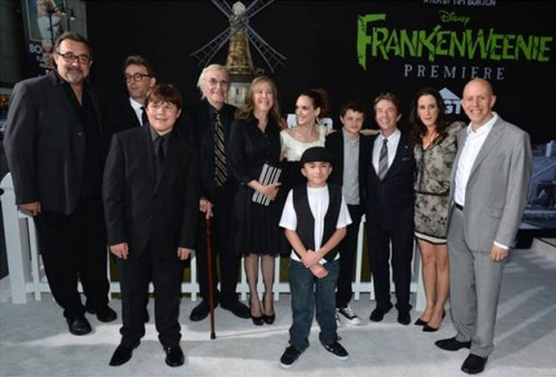 Frankenweenie premiere