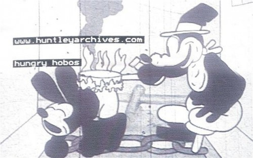 Oswald The Lucky Rabbit - Hungry Hobos
