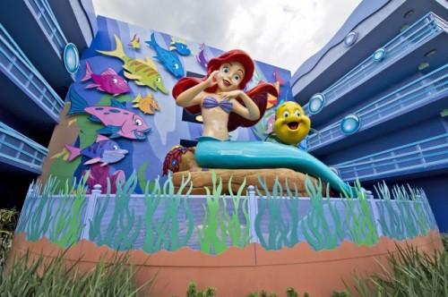 Art of Animation - Little Mermaid Wing