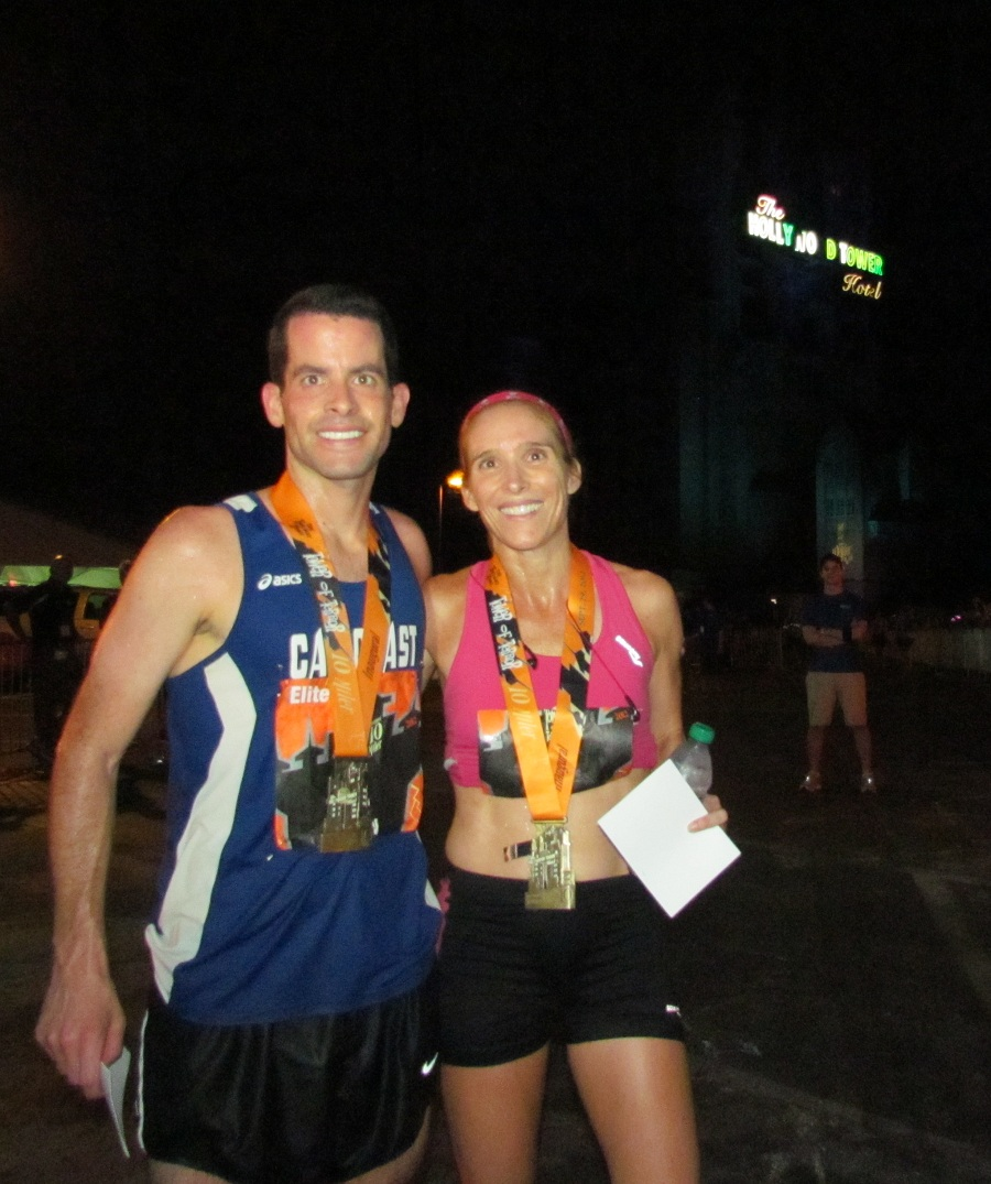 RunDisney - Tower of Terror 10 Miler 2012 winners