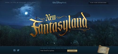 New Fantasyland Website