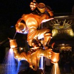 Belle's Village Gaston Statue