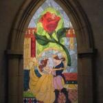 Mosaic at exit