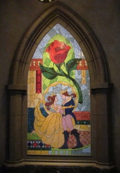 A beautiful mosaic in the lobby.