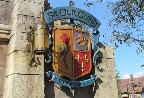 Be Our Guest Marquee