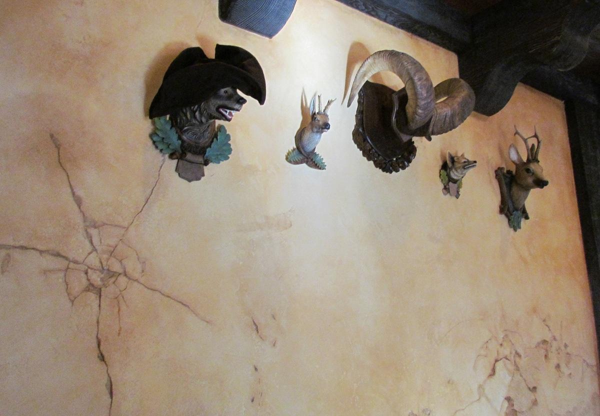 Tavern wall